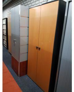 Houten kantoorkast 198x90 cm
