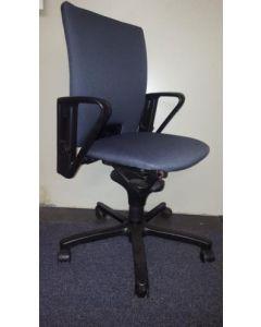 Comforto bureaustoel, nieuwe stof grijs