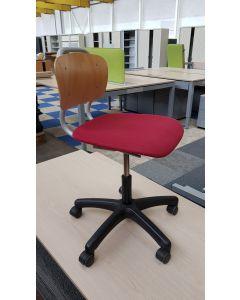 Bureaustoel kinder bureaustoel EROMES rood