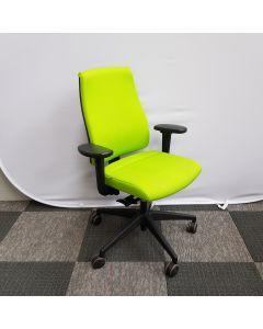 Interstuhl bureaustoel groen, Ergonomisch