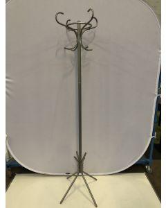 Metalen kapstok grijs hoogte 193 cm