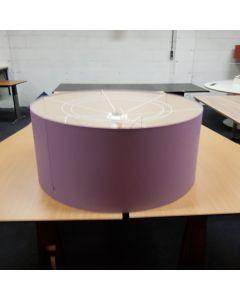 Hanglamp LANDE paars 90 cm diam