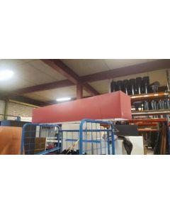 BOOPS hanglamp, rood 180x30 cm