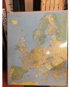 Landkaart Europa 155x123 cm