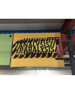 Bill Gates tekstbord 110x150 cm