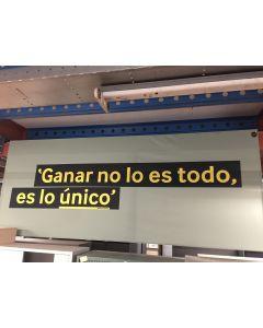 Vince Lombardi tekstbord 160x400 cm