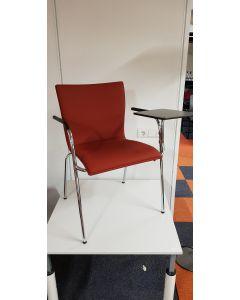 Stoel met schrijftafel, Thonet S160 Conferentie stoel