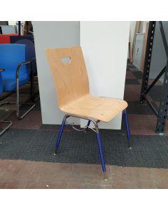 Interstuhl houten stapelstoel