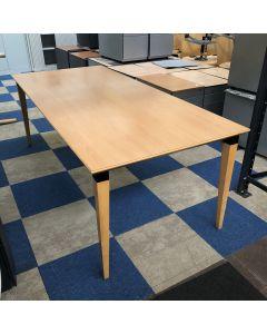 Houten vergadertafel / kantinetafel 200x95 cm
